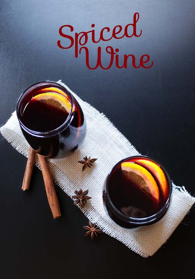 Warm Spiced Wine. The perfect #wintercocktail