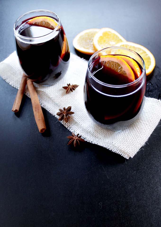 Warm Spiced Wine. #wintercocktail