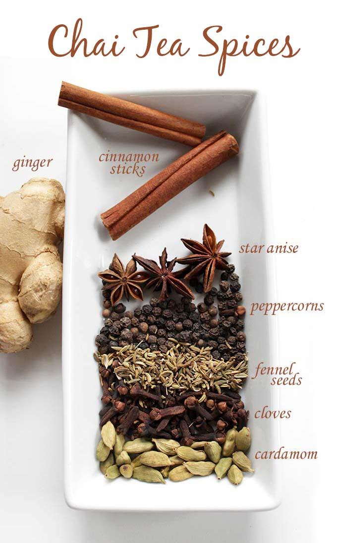 Chai Tea Latte Spices