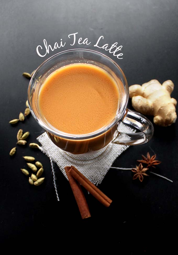 Dairy-Free Chai Tea Latte. How to make it at home!