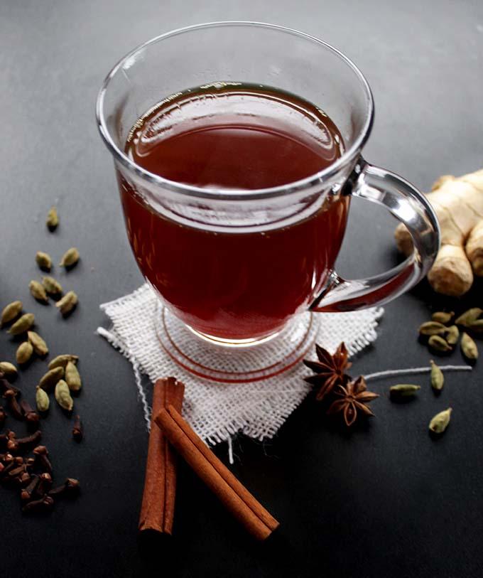 Dairy-Free Chai Tea Latte. delicious. easy.