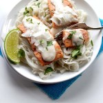 Salmon with Coconut Sauce. Simple. Healthy #glutenfree #salmon