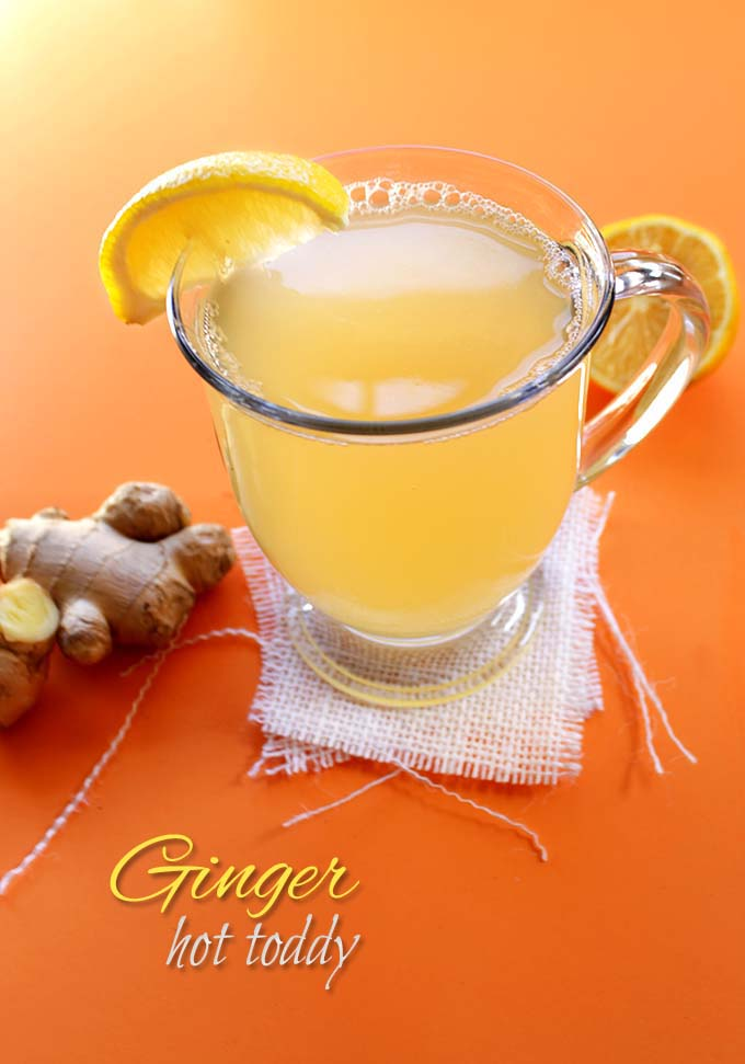 Ginger Hot Toddy. Simple. Easy. Warming. Spicy. #wintercocktail