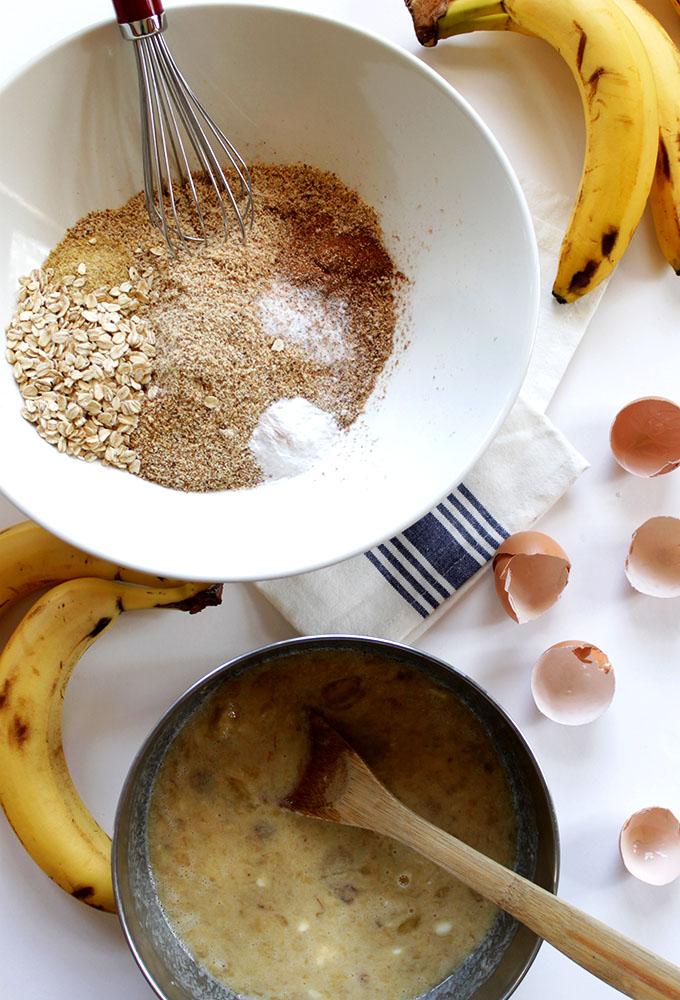 Gluten-Free Banana Bread #GlutenFree #HomemadeBread