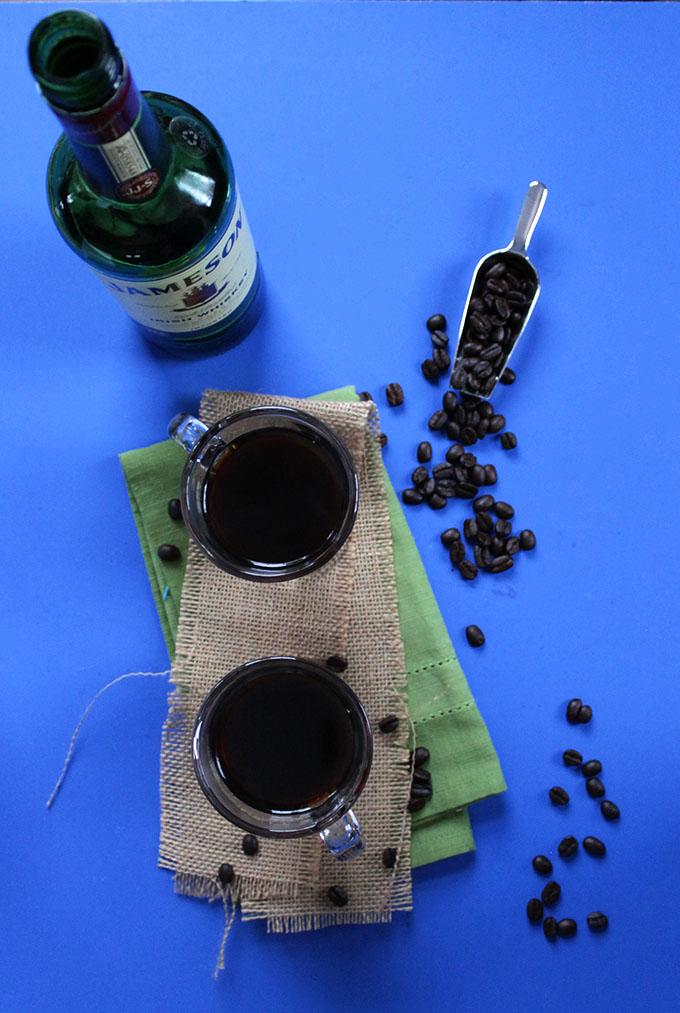 Irish Coffee. Best #wintertimecocktail. Perfect for #StPatricksDay