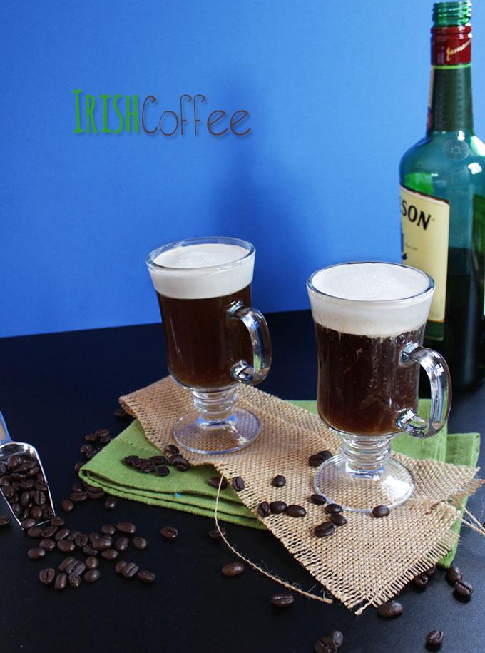 Irish coffee. Let's celebrate #StPatricksDay