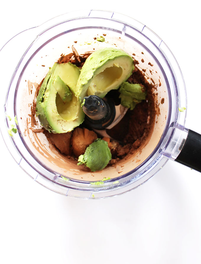 Chocolate Coffee Avocado Pudding. Easy. Healthy Dessert. #vegan #glutenfree #refinedsugarfree