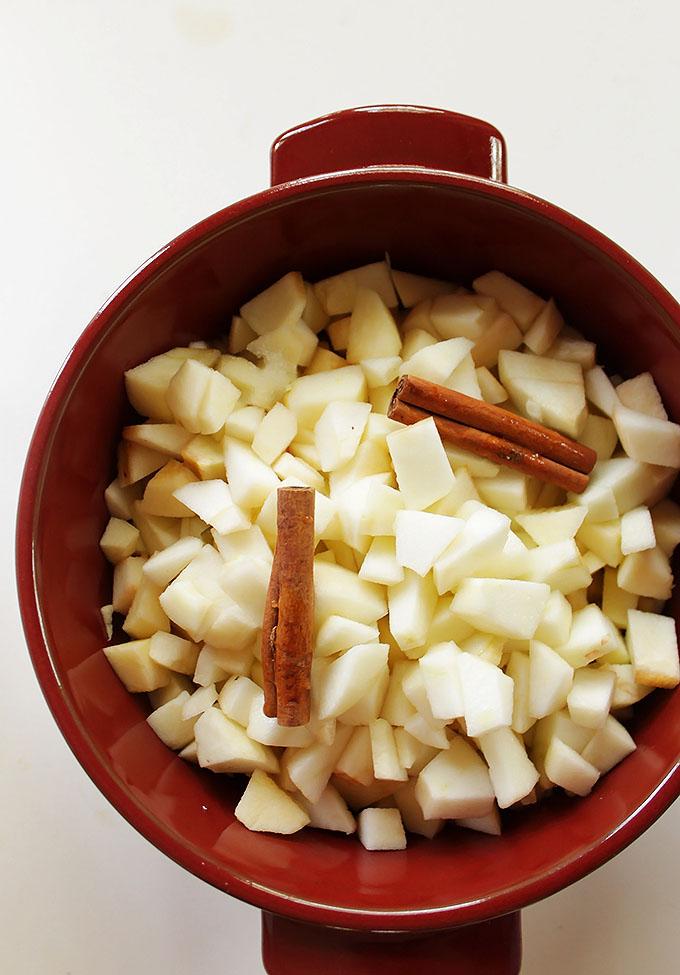 Homemade Applesauce!  robustrecipes.com