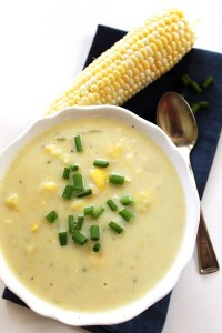 Corn and Zucchini Chowder