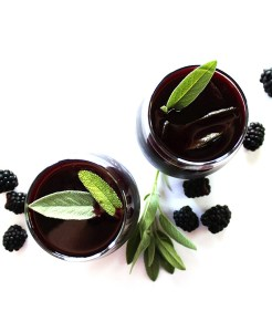 Blackberry Sage Red Wine Sangria