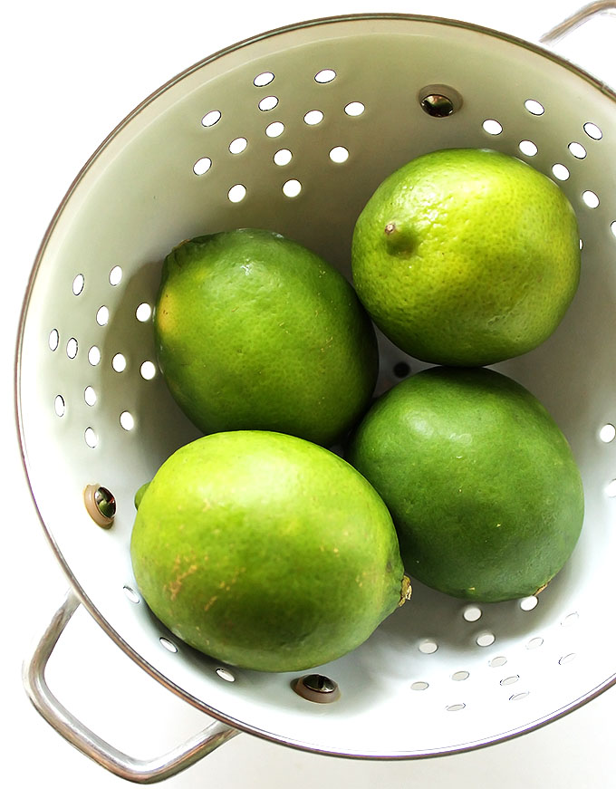 Limes for Gluten Free Key Lime Pie