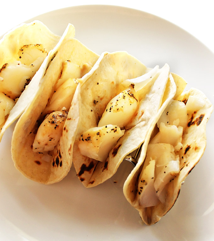 Fish Tacos with cod