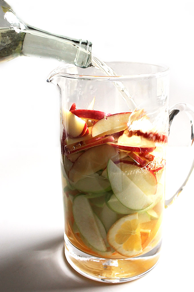 Fall White Wine Apple Sangria