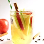 Fall White Wine Apple Sangria - Filled with crisp apples and warming spices. Refreshing and easy to make! | robustrecipes.com