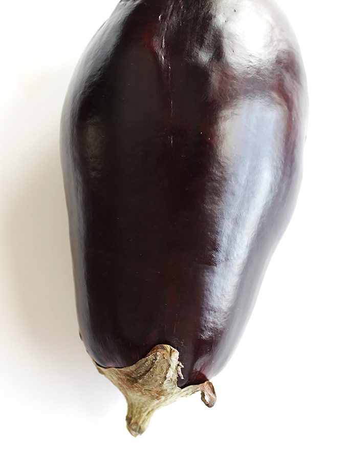 Eggplant for Eggplant Green Curry with Chicken | robustrecipes.com