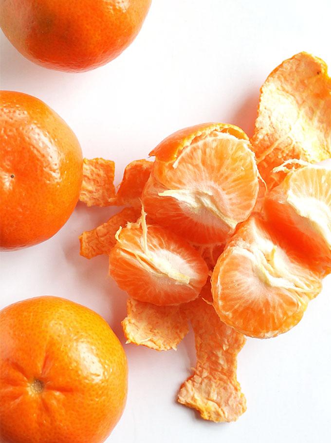 Asian Citrus Salad with Marinated Salmon - Mandarin Oranges | robustrecipes.com