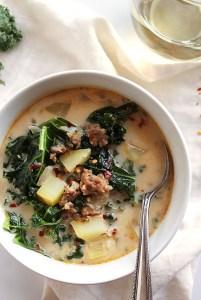 Dairy Free Zuppa Toscana Soup