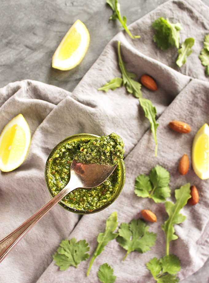 Anything You Have Homemade Pesto