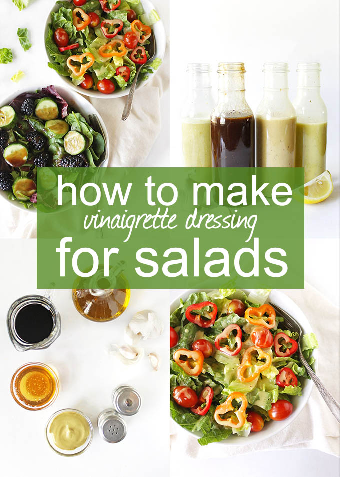 How to Make Vinaigrette Dressing for Salads