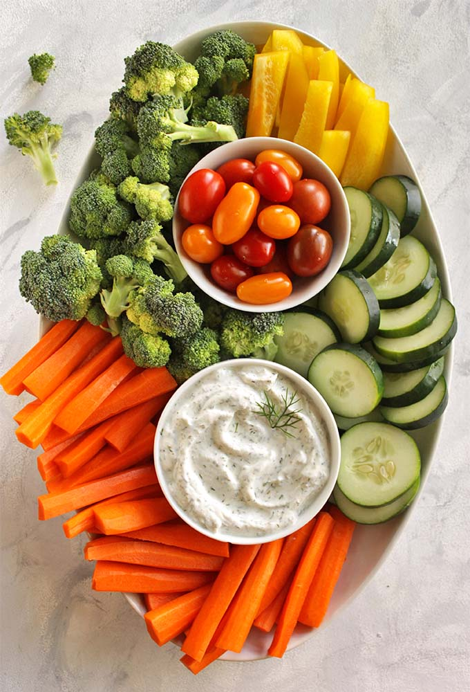 Healthy Greek Yogurt Dill Dip