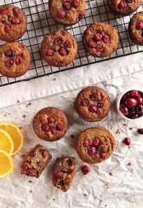 Cranberry Orange Muffins (Gluten Free)
