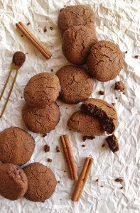 Soft and Chewy Gingerbread Cookies (Gluten Free + Vegan)