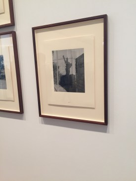 John Gossage photography show (bottom floor of modern wing) at The Art Institute.