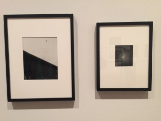 John Gossage photography show (bottom floor of modern wing) at The Art Institute