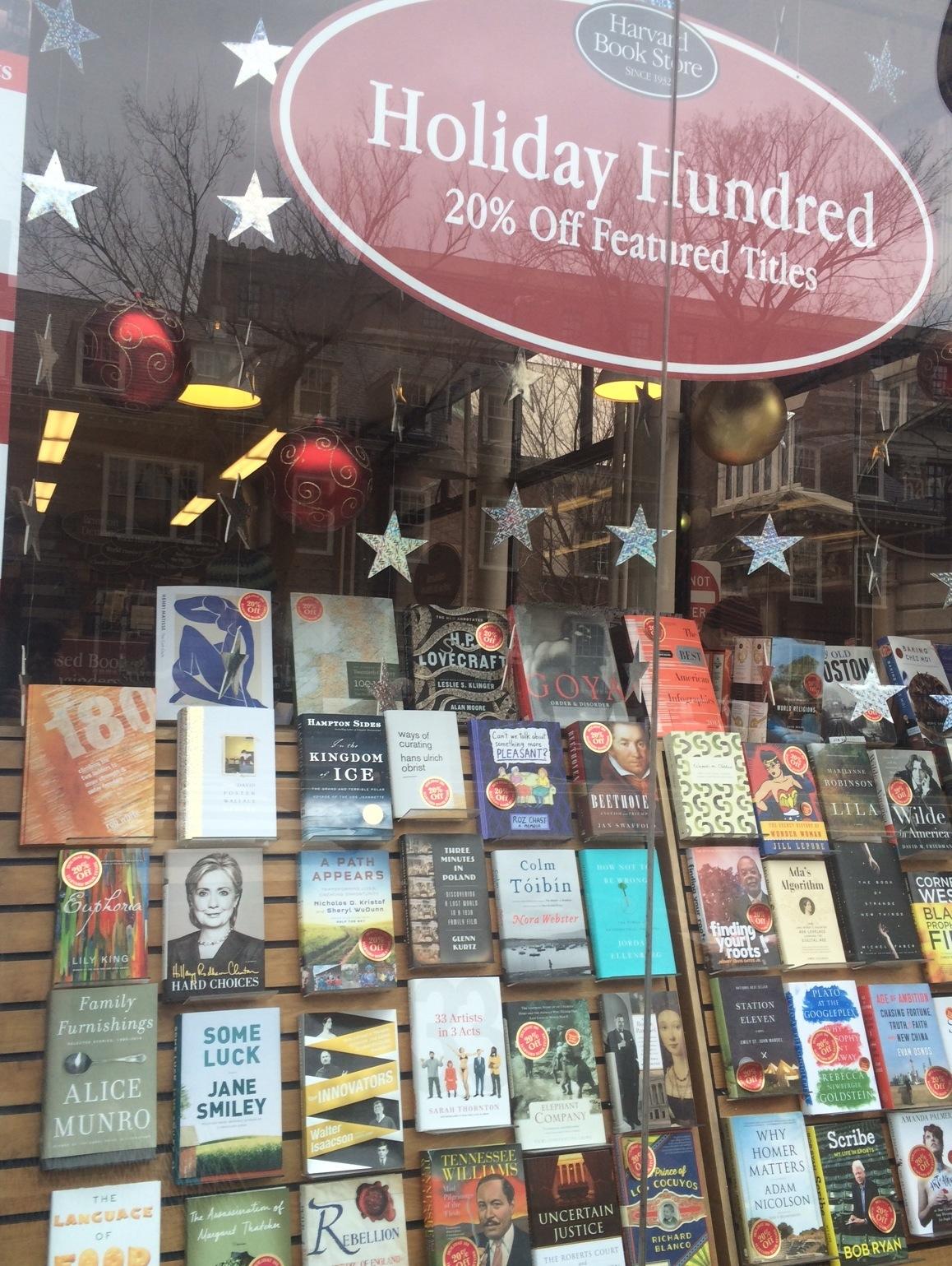 harvard book store rob white