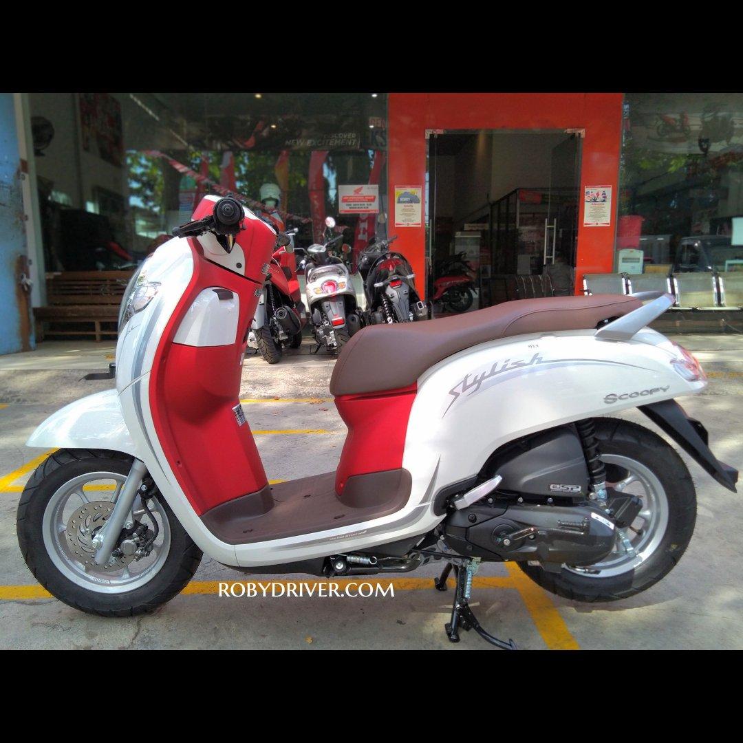 Ini Dia Sosok Honda Scoopy Spesial Edition Kemerdekaan Merah