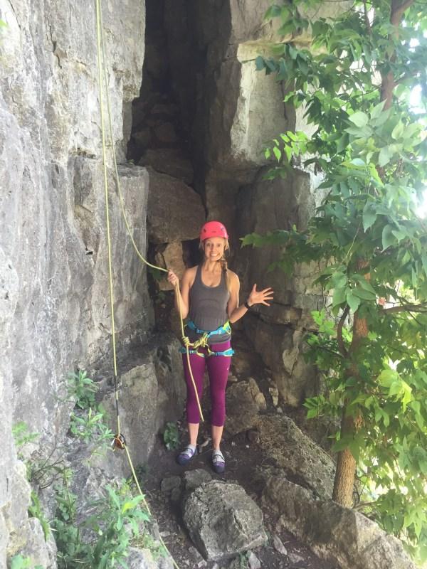 Summer Bucket List Outdoor Rock Climbing Experience