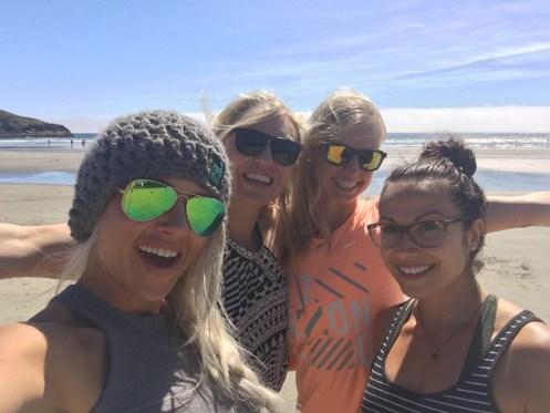 Girls on Long Beach