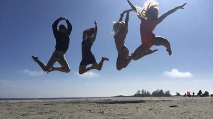Chesterman Beach Jumps