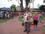 Local real estate 'clown' and Deb