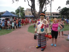 Local real estate 'clown' and Deb