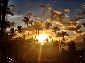 Sunset at Wailea Beach Marriott