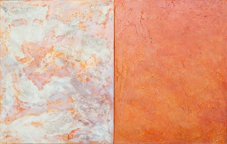 22 Landscape for the Blind (diptych)_2014_acrylic and mixed media on canvases_73x120cm