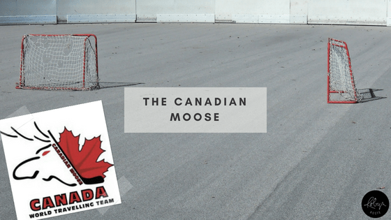 Have Skates Will Travel: The Canadian Moose is a travelling hockey club out of Newmarket Ontario.