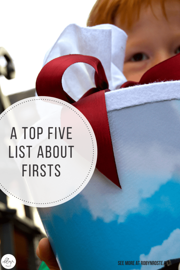 I've been writing top five lists for a long time so this is a roundup of my top five first fives from this blog. Hold on to your hats!