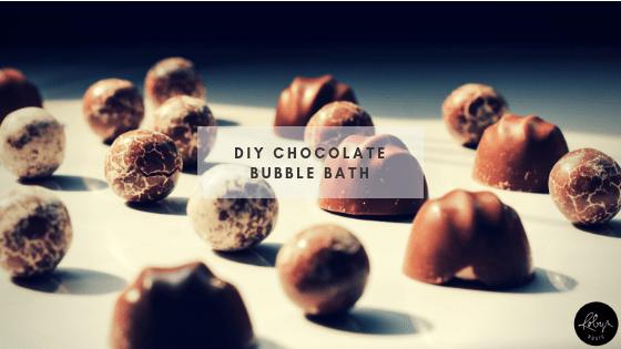 DIY Chocolate Bubble Bath