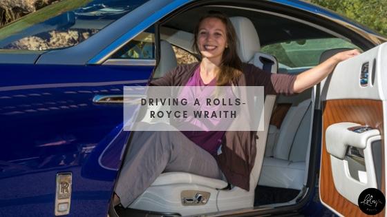 Driving a Rolls-Royce Wraith