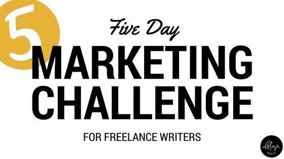 five-day marketing challenge