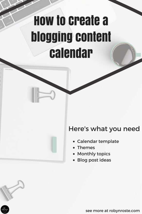 There is so much value in a good plan—there's nothing like a calendar to tell you what to write and keep you on track. I built my blogging content calendar last fall, I implemented it last January, and I'm keeping to it today. Here's what I did and how you can do it too.