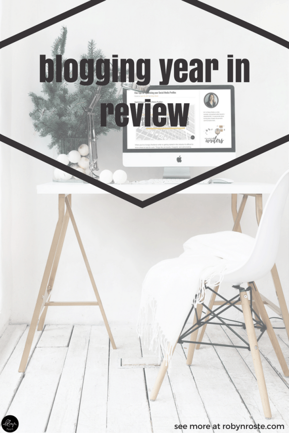 This last year I approached blogging in a new way, even though this blog is not new. So I wanted to do a little blogging year in review in order to capture my progress as well as set public goals for 2018.