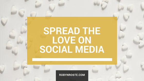 spread the love on social media