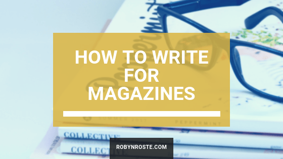 Write for Magazines