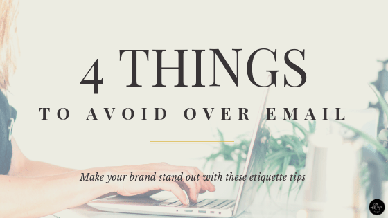4 Email Etiquette Tips to Make You Stand Out