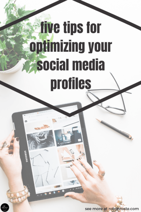 Optimizing your social media profiles is important! You want to ensure potential clients know who you are, what you do, and why they should hire you.