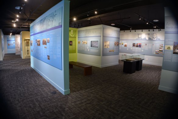 More museum displays