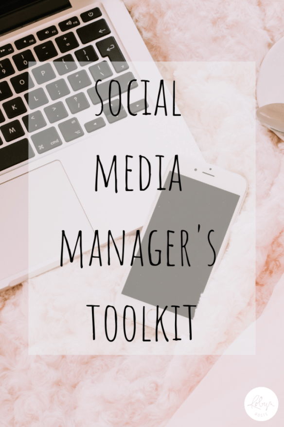 I never considered I would or could be a social media manager. It was for someone else, someone who went to school for new media or social media management.